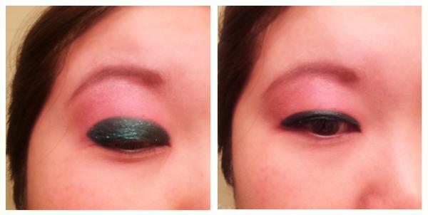 eyeliner glitter basic