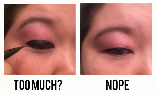 eyeliner monolid