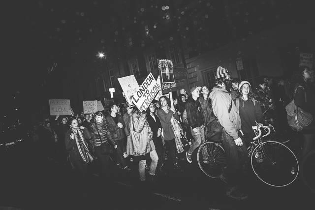 london ferguson protest 1