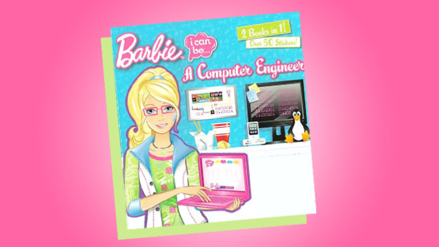 Barbie: I Can Be A Computer Engineer.