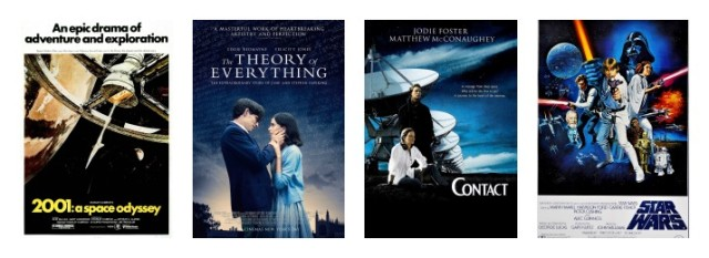 Star Wars Contact Theory of Everything 2001: A Space Odyssey