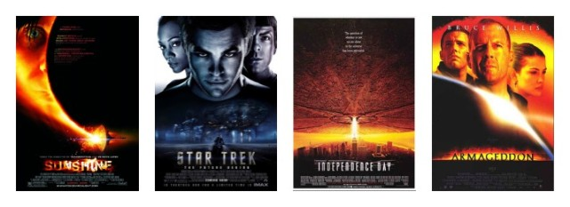 Armageddon Independence Day Star Trek Into Darkness Sunshine