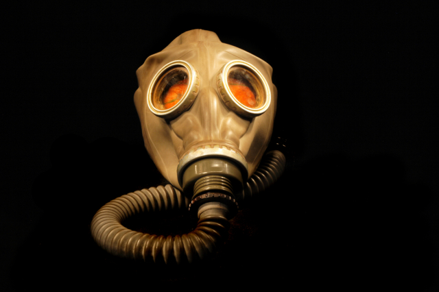Gas Mask Via Shutterstock