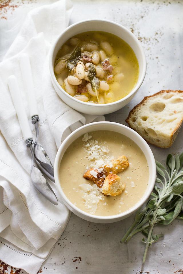11. Tuscan White Bean Soup