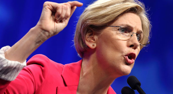 Grammy nominee Senator Elizabeth Warren via politico