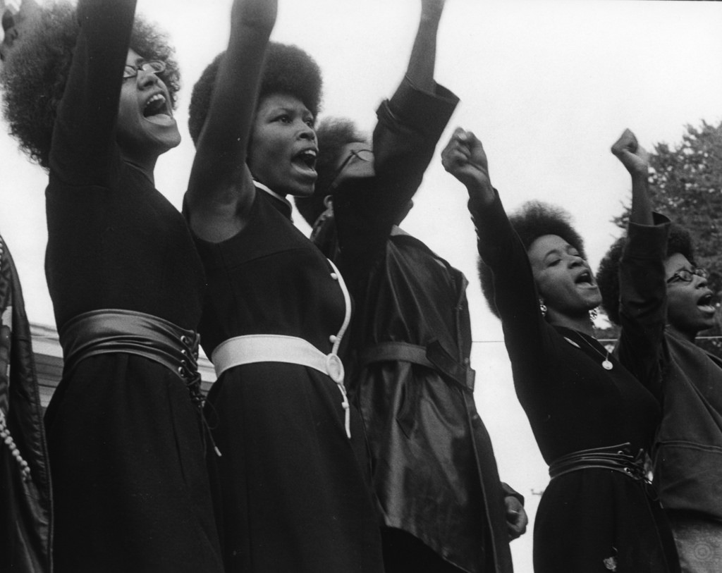 via Golden GatExpress Women of the Black Panther Party