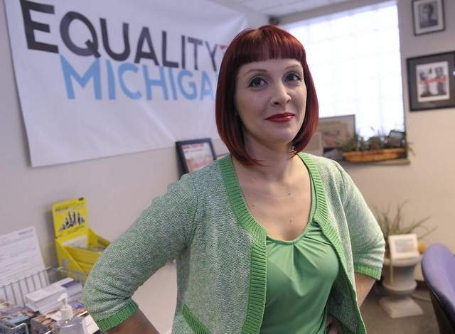 Equality Michigan's Emily Dievendorf (photo via  Detroit New