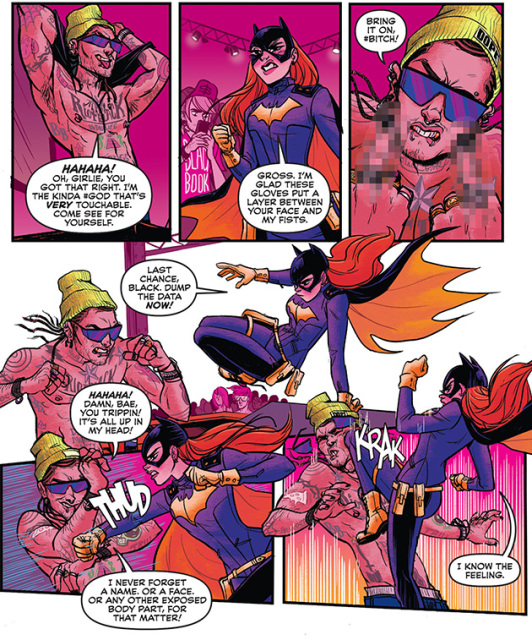 Power girl body swap