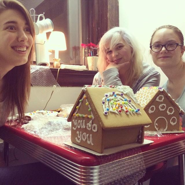 Cincy 'Straddlers Make a You Do You gingerbread house, via clarifyibly on Instagram