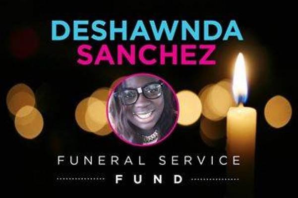 deshawnda sanchez funeral service fund