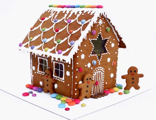 (Insert analysis here about adult children of divorce making gingerbread houses...) ,br> Via