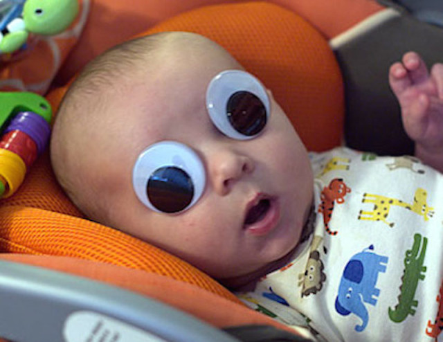 Image result for baby googly eyes