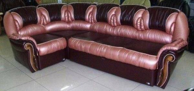 Raquel imagines this is what the Klittra sofa would look like.