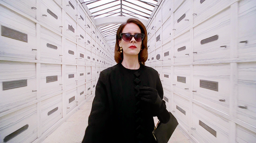 Sarah Paulson as Lana Winters in American Horror Story: Asylum