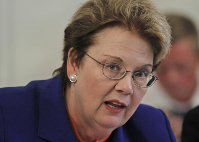 UVA President Teresa Sullivan via AP