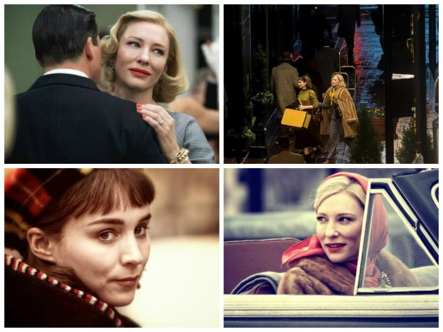 Production stills and set photos from Carol (2015)
