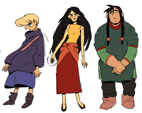 The main characters from Witchy, including one of my top five all-time favorite fictional characters (more on that in another Drawn to Comics)