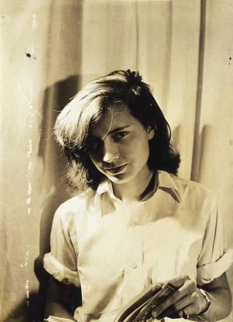 Young Patricia Highsmith