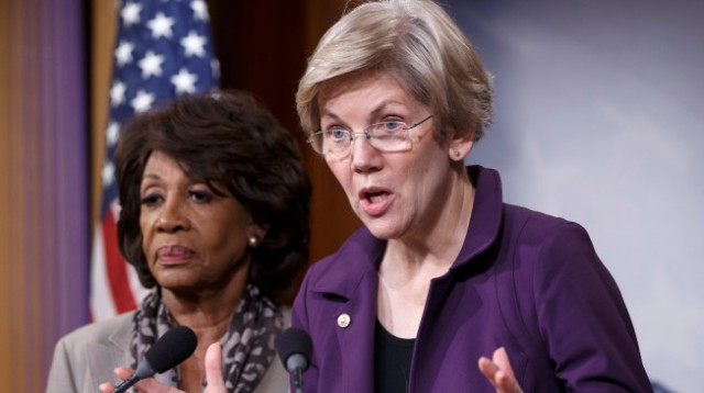 Elizabeth Warren, Maxine Waters