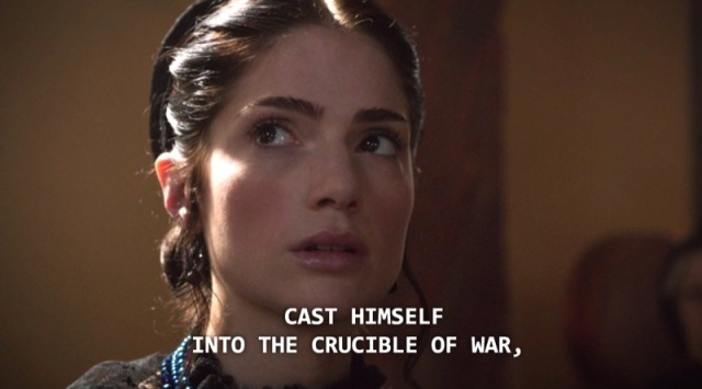 In fact, they allude to it during the John's court scene.