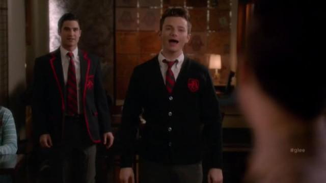 Blaine dating karofsky