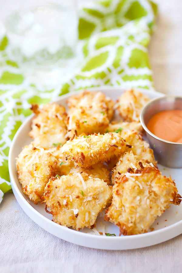 25. Parmesan Baked Chicken Nuggets