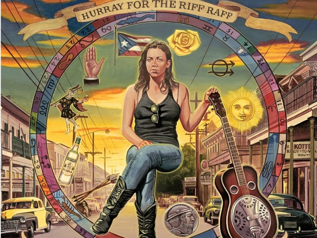 Hurray For the Riff Raff Small Town Heroes cover, feature size
