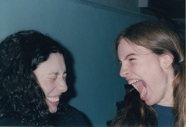 Laura and Kate. Circa 2002.