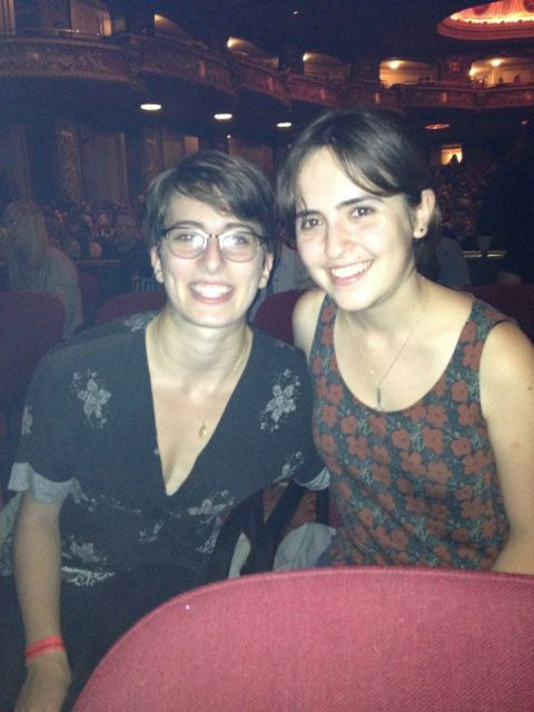 That time we saw Tegan and Sara and right before the concert there was a massive double rainbow over Boston.