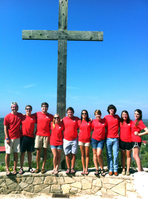 My Mo Ranch 2013 small group, part of my chosen family.