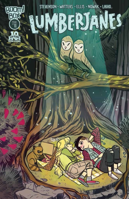 Cover art by Carolyn Nowak