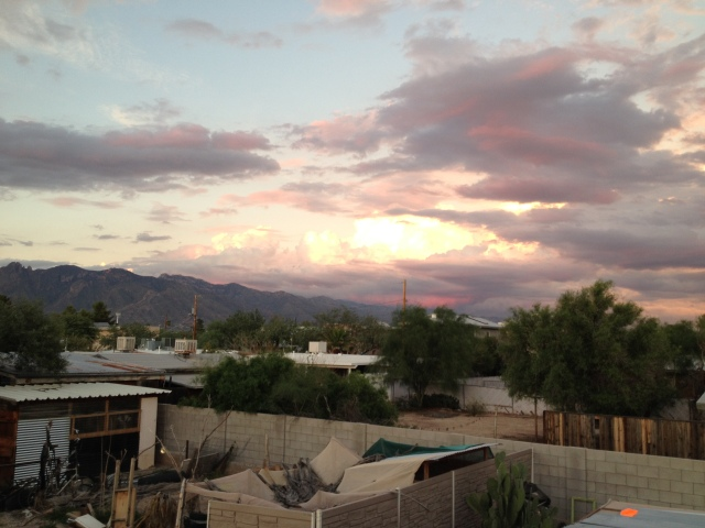 View from David's roof, Tucson, AZ