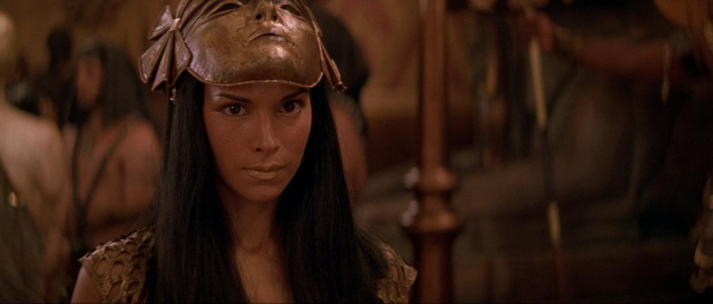 "In ""The Mummy Returns"""