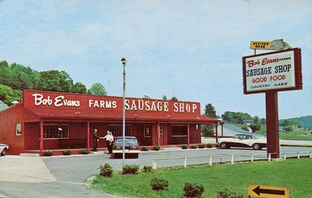 Bob Evans in Rio Grande, Ohio, via flickr