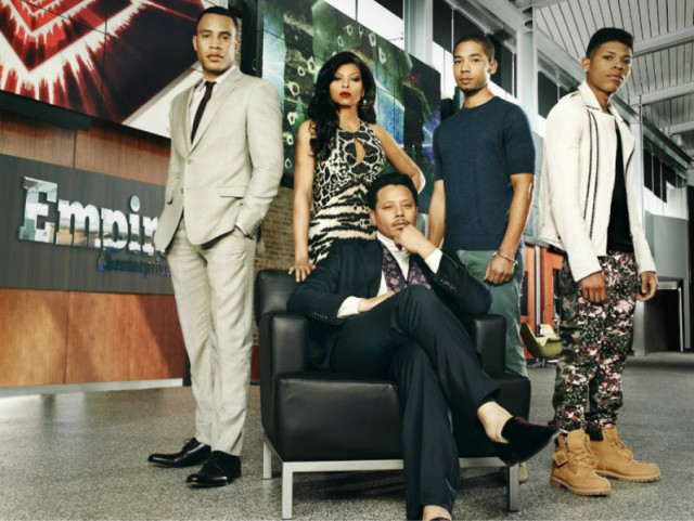 Front: Lucious. Left to Right: Andre, Cookie, Jamal, Hakeem.