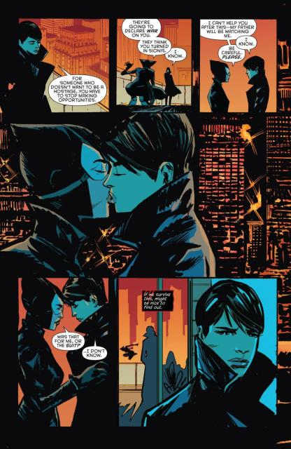 Catwoman #39 art by Garry Brown.
