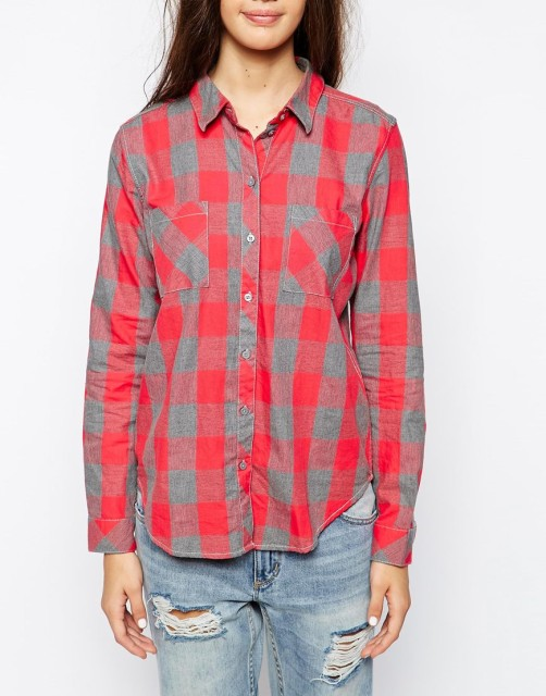 Only Plaid Shirt