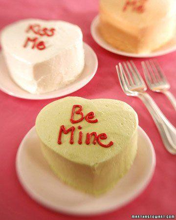 mini heart shaped cakes