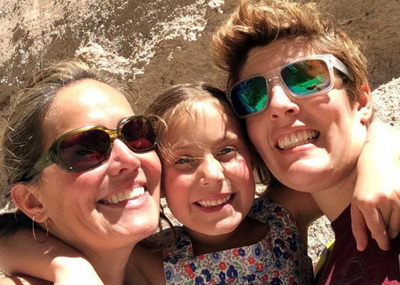 sally kohn and family