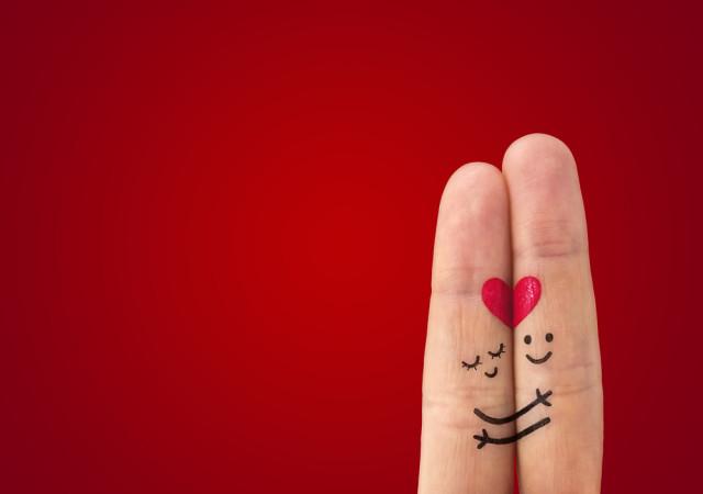 fingers-valentines