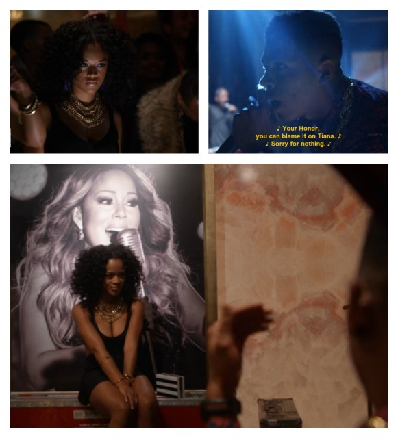 Tiana and Hakeem in Empire.