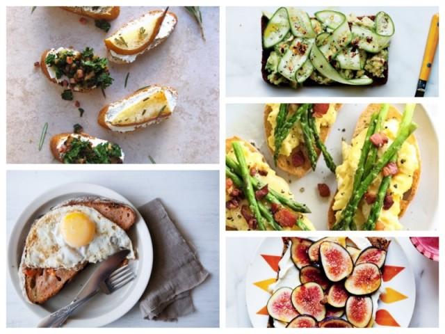 toast-collage