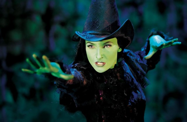 Willemijn Verkaik as Elphaba via Stage Door Dish