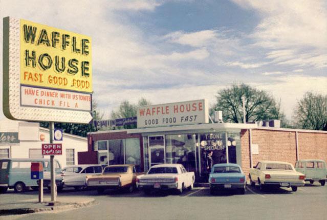 Waffle House in Atlanta, Georgia, 1964