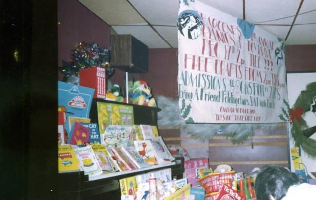 Charlene's annual toy drive. Photo courtesy of Dianne Schneider.