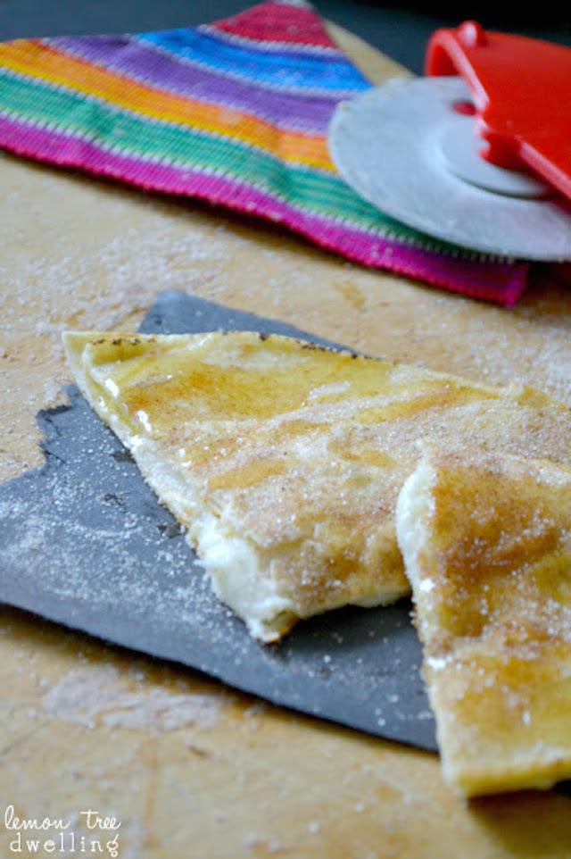 Cheesecake Sopadillas