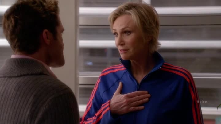 Oh, me? I'm Jane Lynch. You may have heard. I can do no wrong.