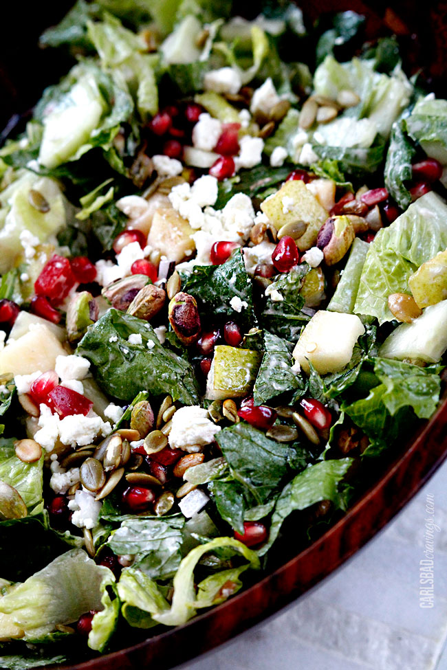 Pomegranate-Pistachio-Pear-Salad-with-Pomegrante-Strawberry-Yogurt-Dressing8