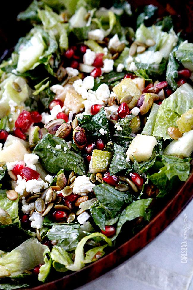 Pomegranate-Pistachio-Pear-Salad-with-Pomegrante-Strawberry-Yogurt-Dressing8