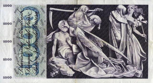 Switzerland 1000 Francs
